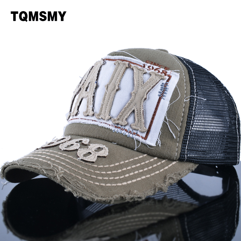 TQMSMY summer Letter PAIX 1968 Cotton Mesh Baseball Cap Men women caps Breathable bone girls snapback cap TMWL10 gold embroidery crown baseball cap women summer cap snapback caps for women men lady s cotton hat bone summer ht51193 35