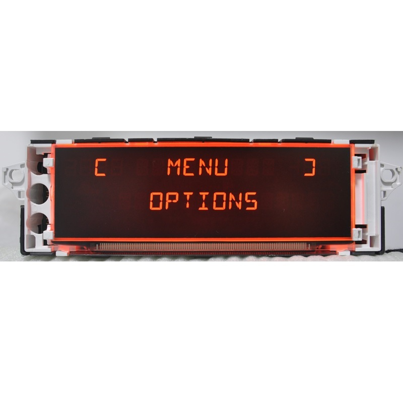 lowest price Car Screen Support USB AUX Display Red Monitor 12 pin Suitable 307 207 308 408 3008 C4 C5 Display