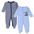 2016 Nova Marca Primavera Verão Macacão de Bebê Pijamas Meninos Roupas de Menina Bonito Macaco Recém-nascidos Macacões Roupa Infantil Sleepwear