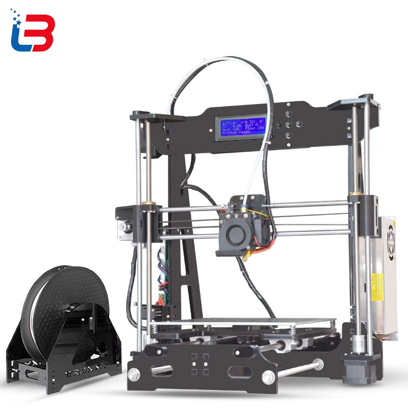 Hot Sale Tronxy P802E 3D Printer DIY kits Bowden Extruder MK3 heatbed 3D Printing PLA ABS supports Auto leveling optional 8GB SD