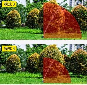 Image 5 - Arroseur en balançoire, tuyau darrosage réglable pour lirrigation de la pelouse du jardin et des extrémités