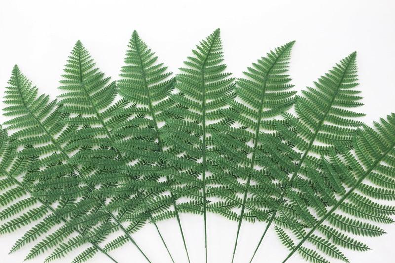 JAROWN Artificial Plants Fern Leaf Nordic Minimalist Style Decor Flower For Wedding Home Flower Arrangement DIY Accessories (15)