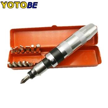 13pcs Strong Chrome-vanadium Steel Impact Screwdriver Set Hand Impact Drive Set Driver Heavy Duty Repair Tool