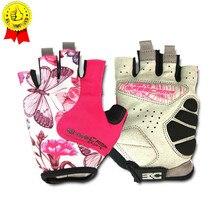 BASECAMP женские розовые велосипедные перчатки 2019 популярные женские фитнес-перчатки анти-скольжение волосипедный костюм шоссейный велосипед открытые велосипедные перчатки