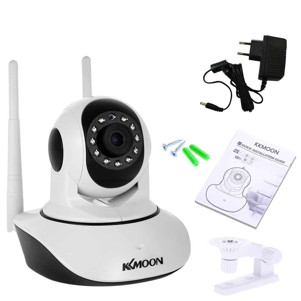 Image 5 - KKmoon IP Camera 1080P HD Wireless Wifi Camera 2MP Network Surveillance Camera Night Version Two way Audio P2P Home CCTV Camera-in Surveillance Cameras from Security & Protection