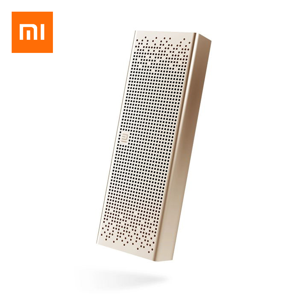Xiaomi Mi Speaker Wireless Mini Speaker Micro SD TF Card Aux in BT4.0 for IPhone and Android Phones Portable Handfree original xiaomi mi bluetooth speaker wireless stereo mini portable mp3 player pocket audio support handsfree call tf card aux in