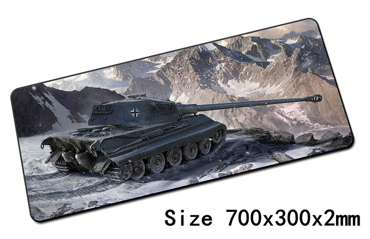 World of tanks padmouse 700x300mm pad to mouse notbook computer mousepad hot sales gaming mouse pad gamer to laptop mouse mat