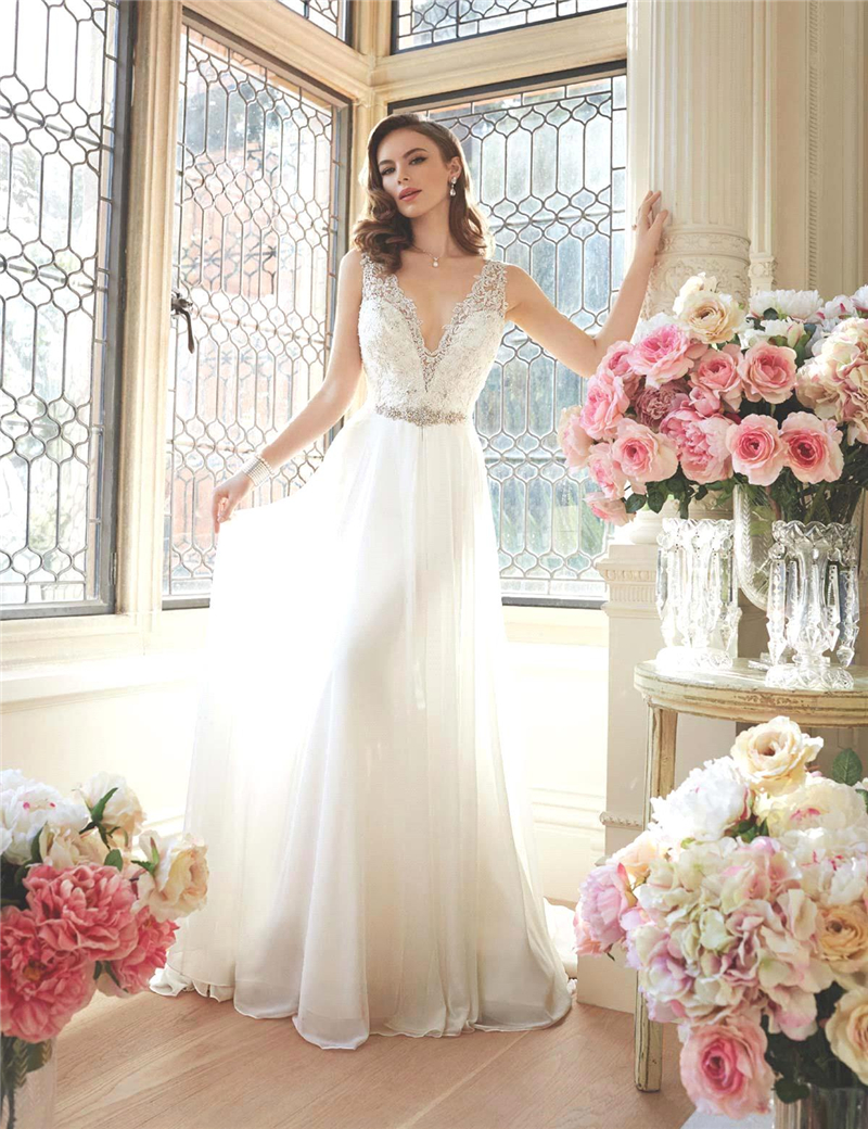 audrey hepburn wedding dress classy wedding dresses Two by Rosa Clara Bridal Collection Classy Wedding DressSimple