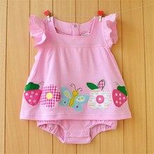 Baby Girl Summer Romper Dress