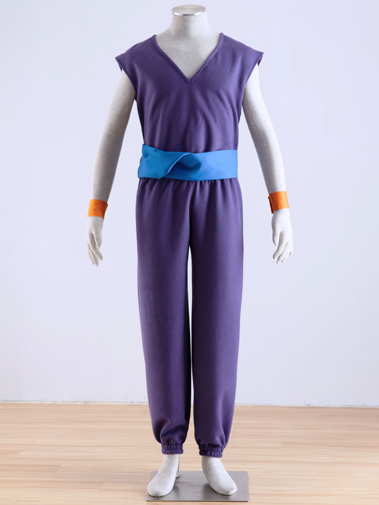DRAGON BALL Piccolo Purple Uniforms cosplay costume Free Shipping
