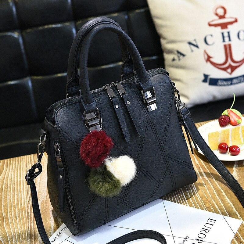 Luxury Brand Leather Women Handbags Shoulder Crossbody Bag Ladies Fashion Soft Women Messenger Bags High Quality Tote Bag Female