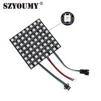 SZYOUMY WS2811 светодиодный пиксельный модульный свет 8*8/16*16/8*32 DC 5 V индивидуально адресуемых rgb-матрица светодиодный модуль
