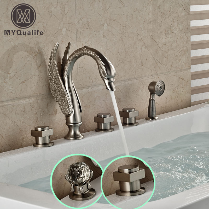Popular Shower Faucet Set Brushed Nickel Buy Cheap Shower Faucet