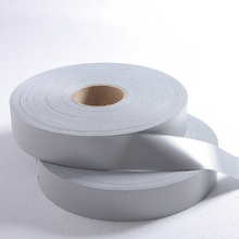 2.5 cm highlighting chemical fiber reflective tape Can sew multi-purpose cycling safety warning line