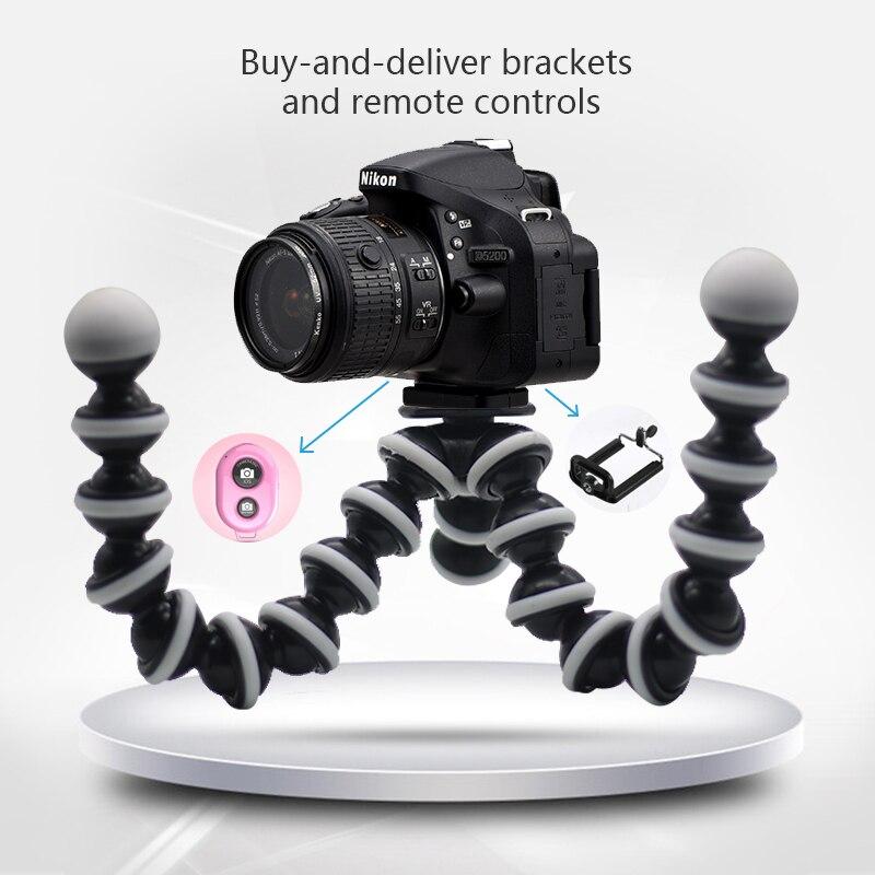 Portable Flexible Smartphone Holder Camera Holder Smartphone Tripod Foldable Desktop