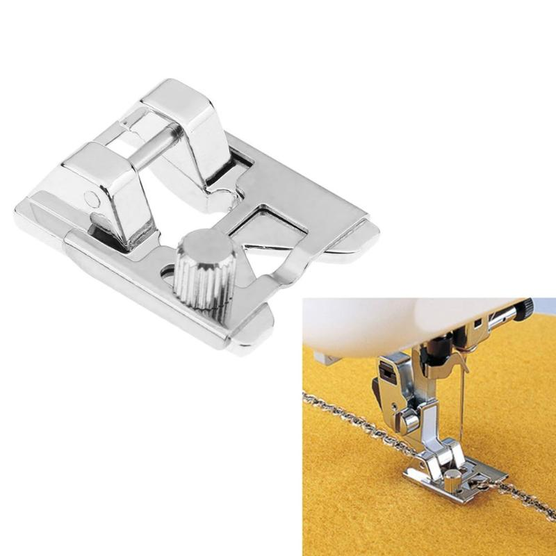 Multi-function Presser Foot Beaded Piece Lace Elastic Fabric Presser Foot for Sewing Machine Parts Sewing Accessories
