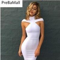 New Arrival Elegant Womens Summer Dress Vestido Slim Bodycon Chic Dress Tunic Halter Neck Casual Pencil Dress C33