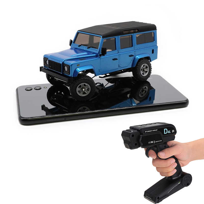 Orlandoo OH32A03 1/32 DIY Kit RC Rock Crawler Auto Kit DIY Rubicon MINI Crawle RC Auto Met Zender Voor Jongens geschenken Speelgoed