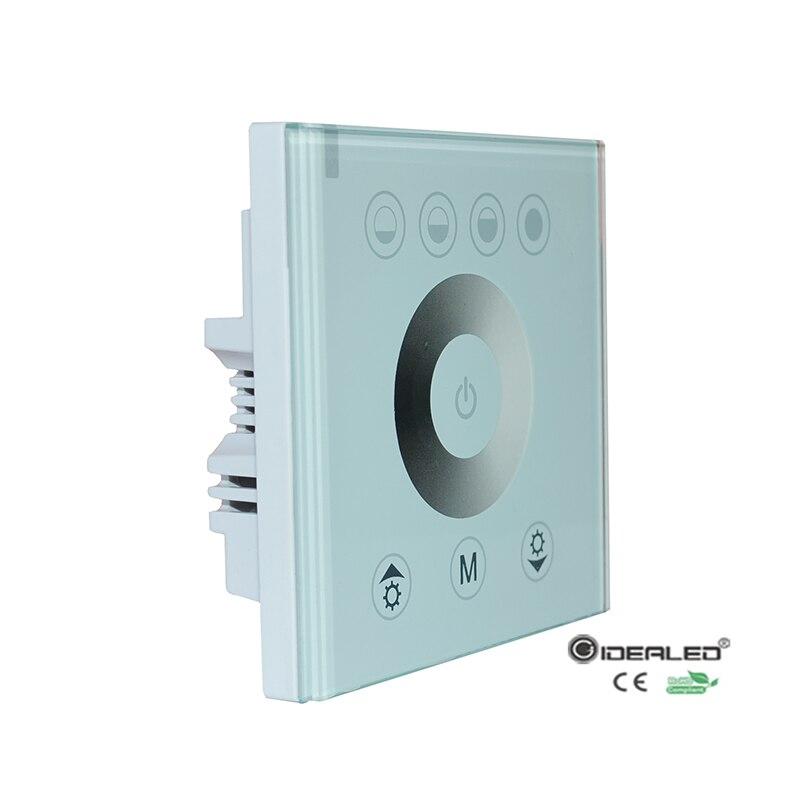 DIY domácí dotykový panel Ovladač pro LED stmívač osvětlení spínače LED panelu DC12V-24V
