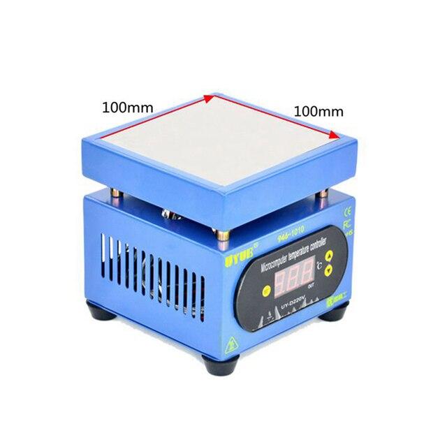 לUYUE 946 1010 תצוגת LED Preheating פלטפורמה עבור טלפון נייד LCD מסך מגע תיקון BGA PCB חם צלחת חימום מוקדם תחנה
