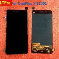 Black White E1001 Full LCD Display Touch Screen Digitizer Assembly For OnePlus X E1001 Phone1920 1080