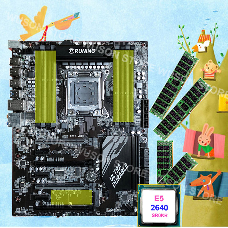 gaming-pc-motherboard-runing-x79-motherboard-with-8-ram-slots-max-128g-intel-xeon-e5-2640-c2-2-5ghz-ram-48g-1600mhz-ddr3-recc