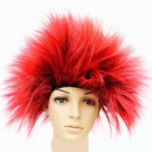 Unisex Erwachsenen Großen haar Explosive frisur haar set Cosplay Peluca Peruca headwear Karneval Purim Nachtclub party Kostüme kleid
