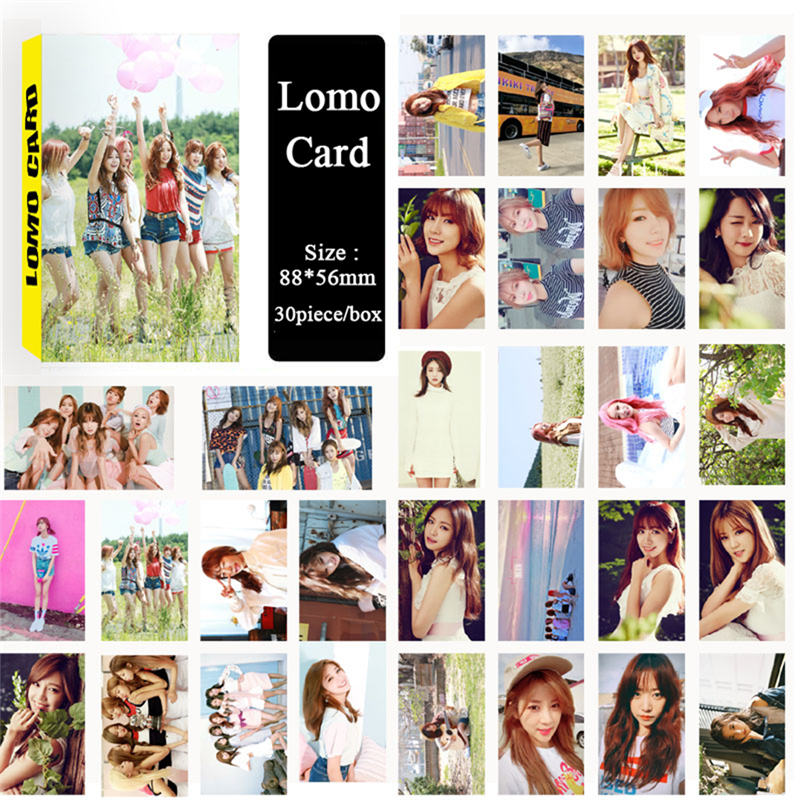 k pop KPOP Fan A Pink Apink Five Years Album LOMO Self Made Cards Photos Photocard ...