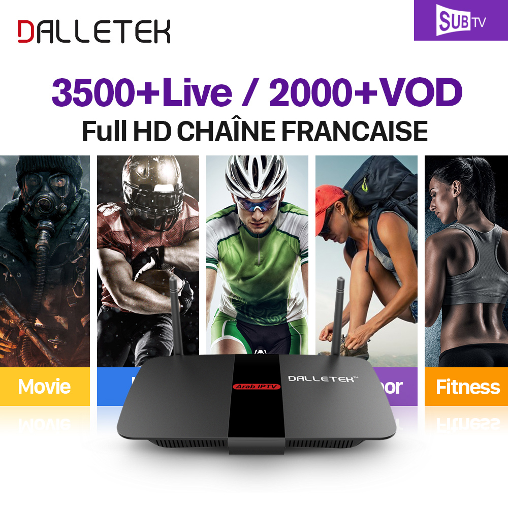 Android 6.0 TV Box RK3229 Quad Core WIFI HDMI 4K*2K Smart Set Top Box Dalletektv IPTV 1 Year SUBTV Code French Arabic IPTV Box android smart tv box mini pc quad core intel atom z3735f 2 32gb iptv android 4 4 windows10 hdmi set top box stick bluetooth 4 0