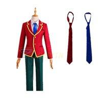 цена на Anime Classroom of the Elite Kiyotaka Ayanokoji School Uniform Cosplay Costume