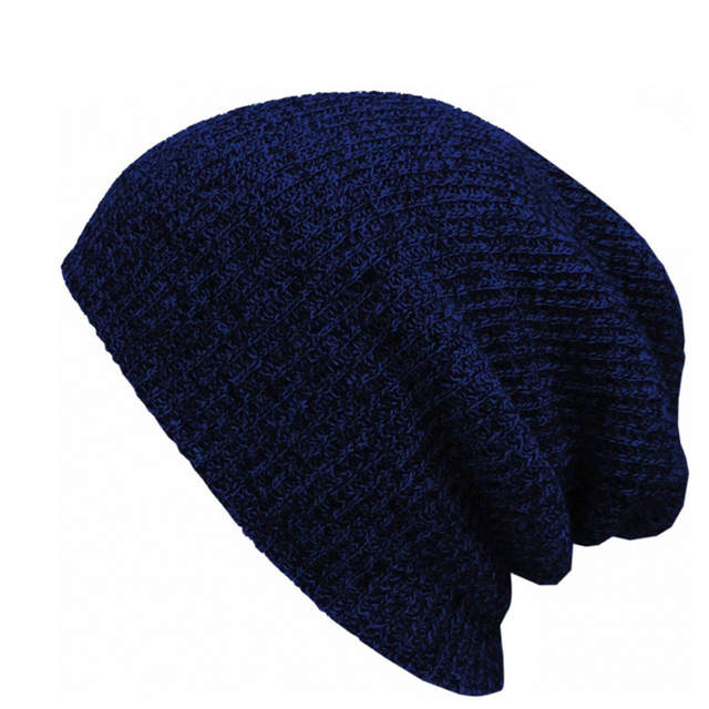 placeholder Brand Bonnet Beanies Knitted Winter Hat Caps Skullies Winter  Hats For Women Men Beanie Warm Baggy 9f579df8046a