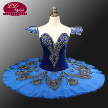 Blue Swan Lake Ballet Costumes Red Adult Bellerina Classical Tutus Professional Tutu LD0012