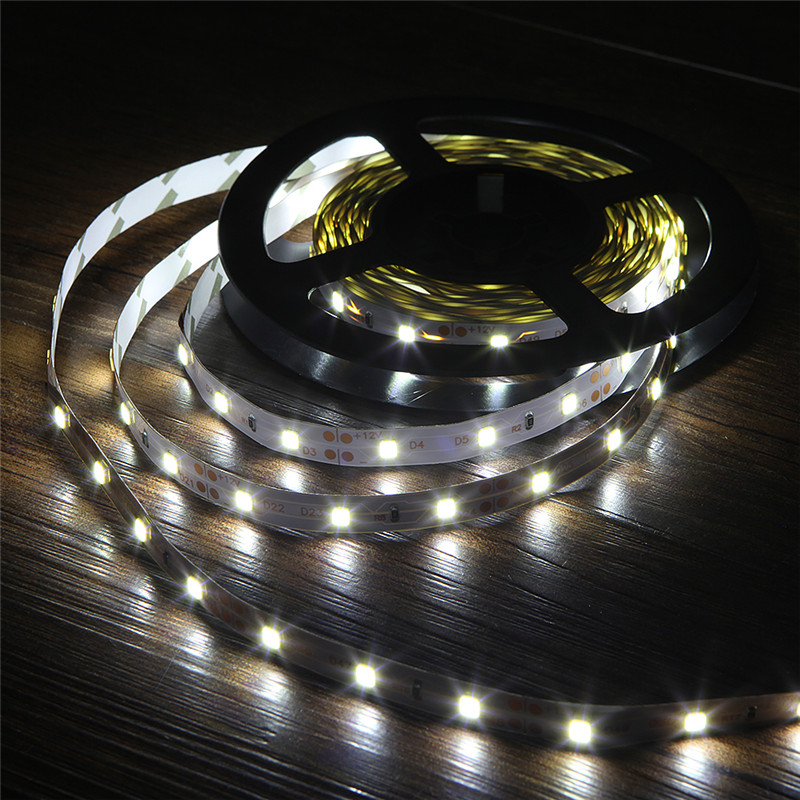White LED Strip 2835 Flexible Strip Light Non Waterproof 5M 12v 300leds Led Ribbon Tape Home Decoration Lamp