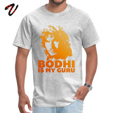 Bodhi Is My Guru 100% Cotton Normal T Shirt Designer One Piece Gengar Mens Design Summer O Neck Top Quality