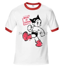 ace723c1 male tops summer style Astro Boy Target Mens brand t Shirt raglan cotton  male top tees