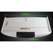 Plastic PC Keyboard Tray Pull Out  27MM