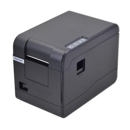 Оптовая продажа высококачественных XP-233B Термальный принтер штрих-кода наклейка принтер qr-код невысыхающая этикетки принтер