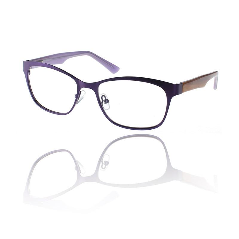 2018 Novo design de moda Mulheres ópticos óculos de aro cheio de armações  de metal Óculos de Leitura Anti Fadiga óculos de Armação oculos de grau  SR008 8babad13fe
