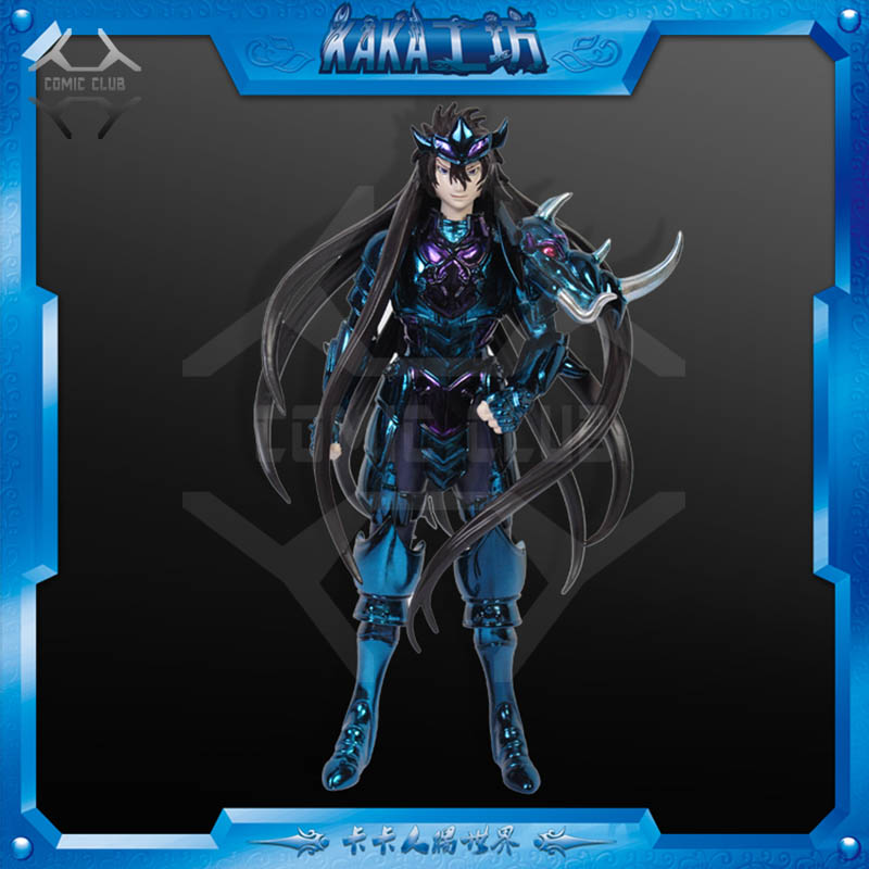 COMIC CLUB KAKA Saint Seiya Hades Specters Surplice Star of Solitude Violet Biolette de Behemoth Limited Figure