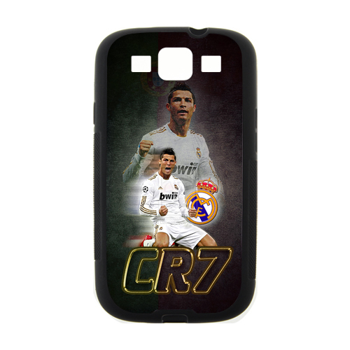 Portugal Football Superstar Cristiano Ronaldo #7 Hard Plastic Customized Case SamSung Galaxy S3 I9300/S4 I9500/Note 2 N7100 - World of Free Shopping store