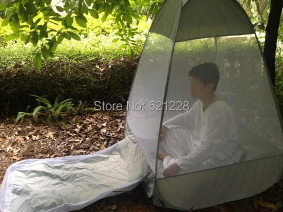 Hot on sale Yoga automatic pop up indoor outdoor sit in meditation crosslegged bhavana torma mosquito net buddhism camping tent
