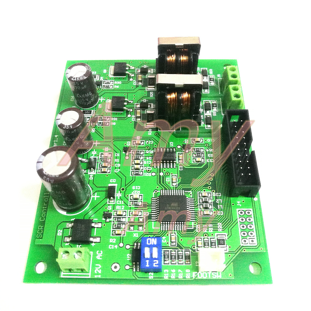 Tools : Battery spot welding control panel16 single chip microcomputer control1602 LCD encoder double pulse SCR driver without module