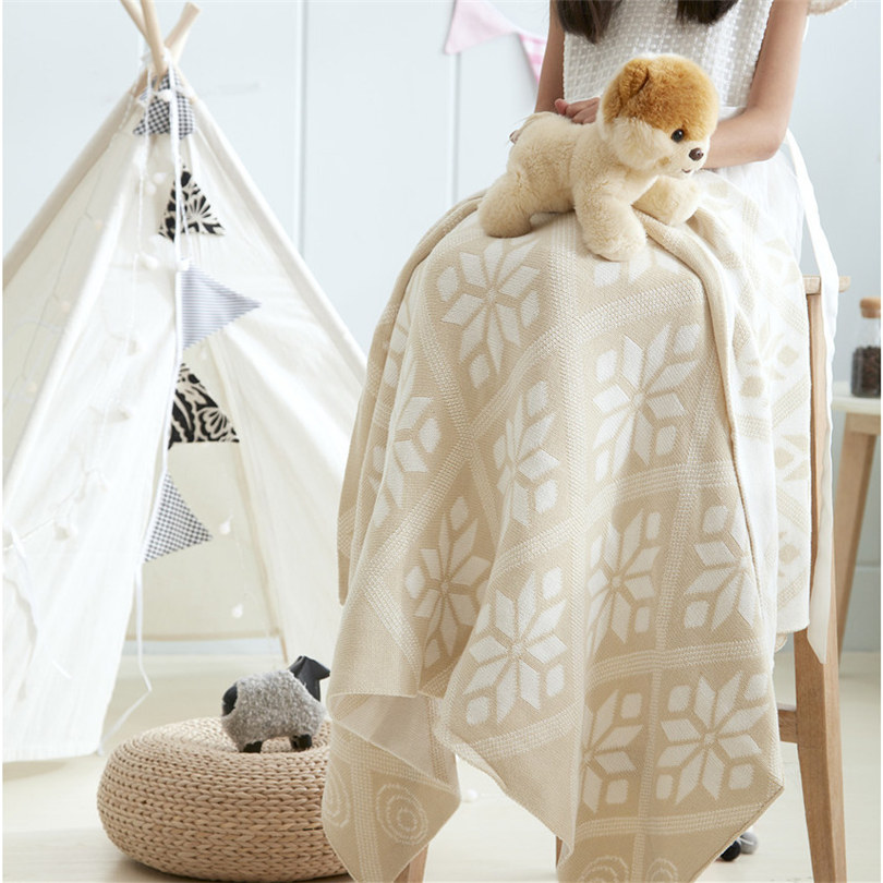 Knitted Fleece Throw Soft Warm blanket Manta Cobertor bedspread Blanket for the sofa/Bed/Car/couch Plaid Chunky knit blanket