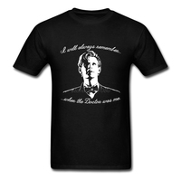Teenage Shorts Sleeve Tees 11th Doctor Regeneration Create Mens Cheap T Shirts Online Doctor Who Cotton