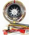 Compresor de la turbina eléctrica motor cabeza de seta filtro para la motocicleta