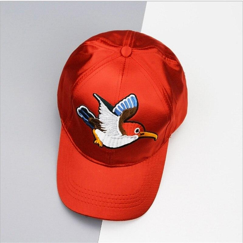 103be36984d Fashion Baseball Snapback Caps For Women Men Bird Embroidery Casual Summer  Bone Sport Caps Sunhat Hip Hop Hat chapeu feminino