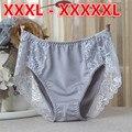 Plus Size Sexy Lace Mulheres Meryl Meados Cintura Calcinha Lingerie XXL-XXXXL Meninas Bonitos Cuecas Bragas Calcinhas Calças Cuecas HC1892