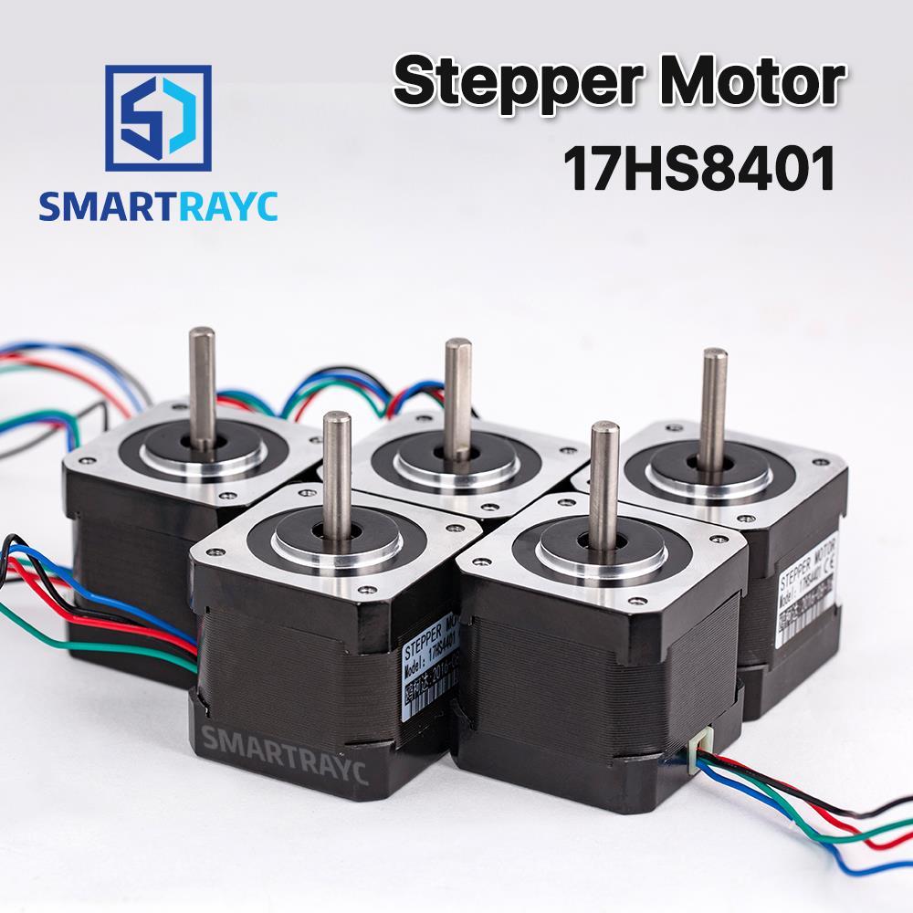 Smartrayc 5 pcs 4-lead Nema17 Stepper Motor 42 Nema 17 42BYGH (17HS4401) 40mm 1.7A 3D printer motor and CNC XYZ цена
