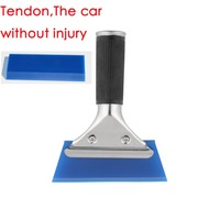 New Styling Blue Razor Blade Scraper Water Squeegee Tint Tool For Car Auto Film For Window