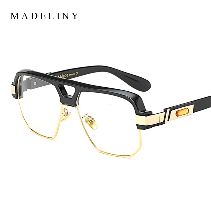 MADELINY High Quality Square Glasses Frame Women Big Frame Clear ...